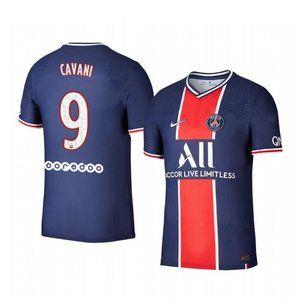 Paris Saint-Germain Edinson Cavani Blue Jersey
